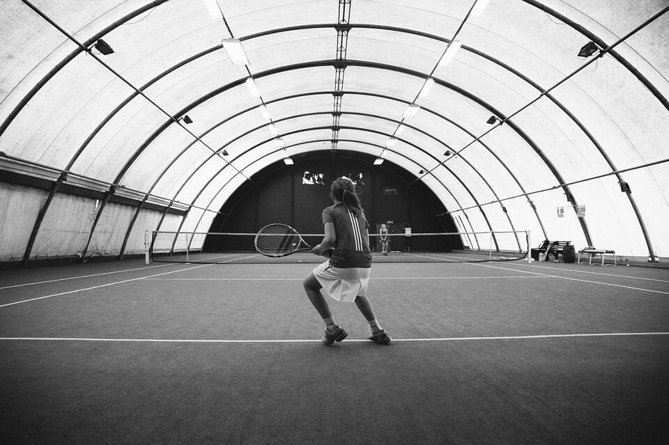 Hale tenisowe lekkiej konstrukcji